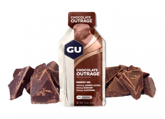 GU - Gel Energy Chocolat Outrage