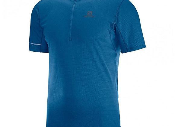SALOMON I Tee-shirt HZ Homme I Bleu