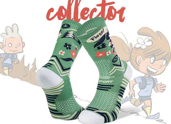 BV SPORT I Chaussettes Trail Collector I Vert