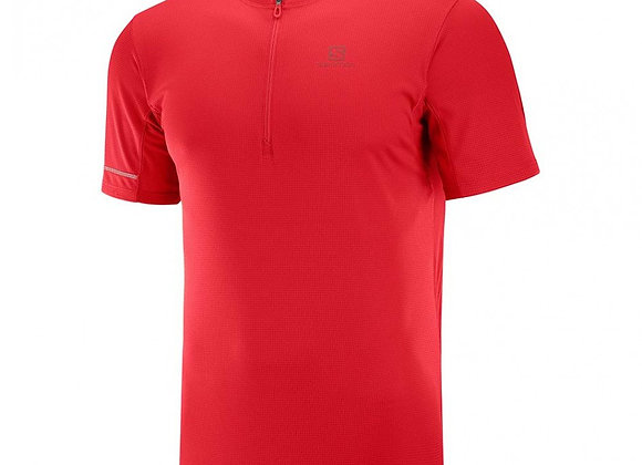 SALOMON I Tee-shirt HZ Homme I Rouge