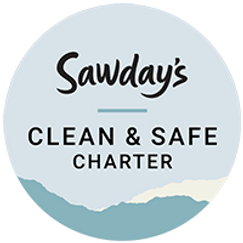 Sawday's Clean and Safe Badge.png