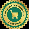 selo profissional de e-commerce Comschool