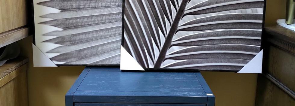 Palm Fronds Framed Wall Art