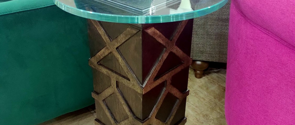 Glass Top Spot Table