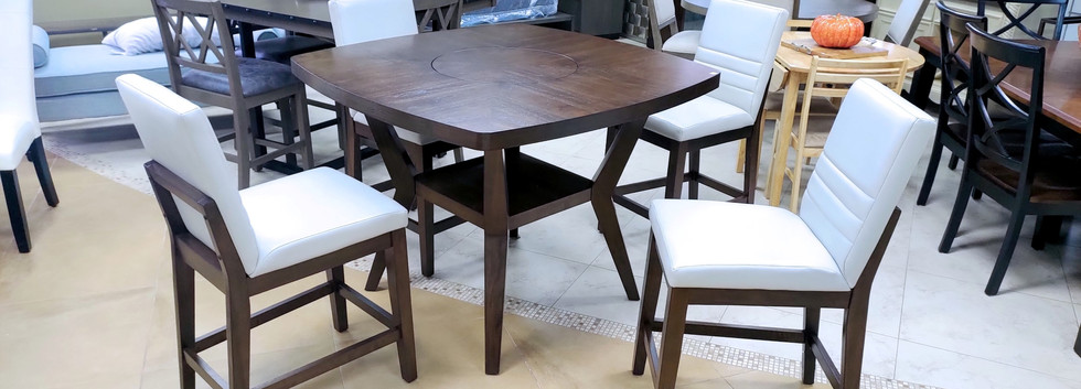 5-Piece Counter-Height Dining Set