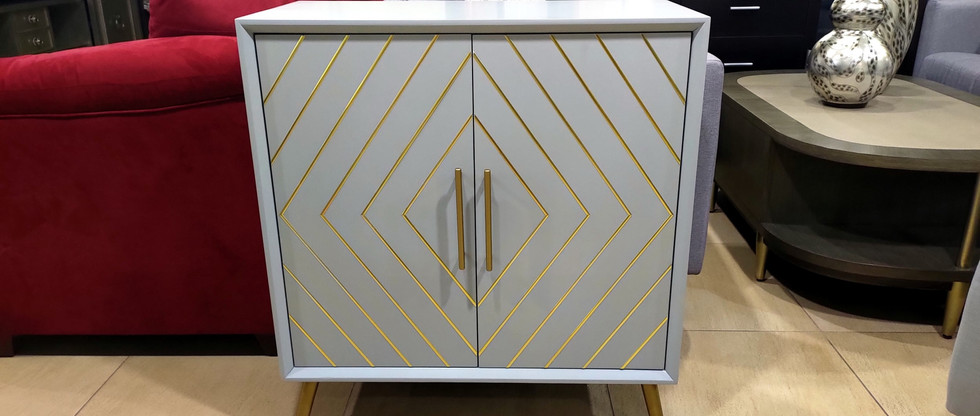 Stylish 2-Door Cabinet