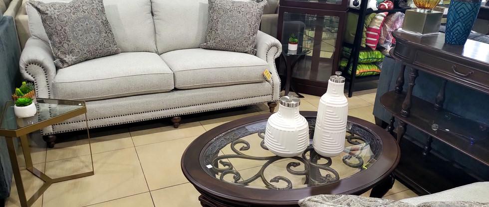 Elegant Sofa & Loveseat