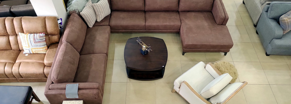 Large Quality Sectional Seating
