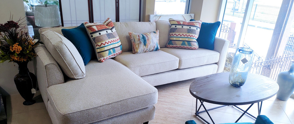 2-Piece Sectional Seating