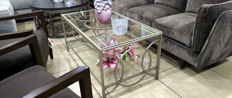 Glam Cocktail Table