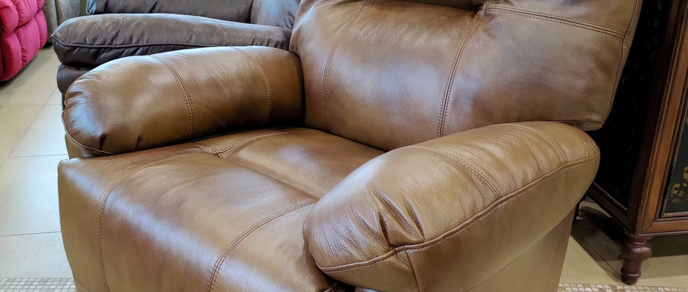 Quality Leather Rocker Recliner