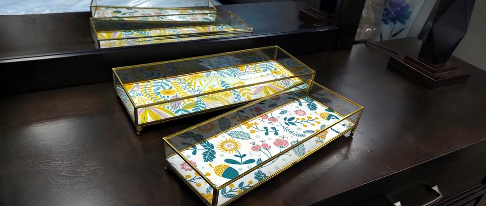 Set of 2 – Decorative Trays
