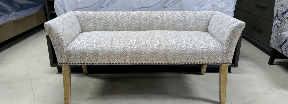 Low-Back Accent Bench
