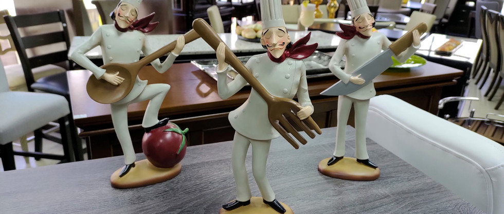 Musical Chef Figurines