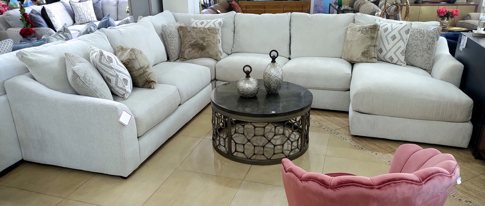 Comfy Sectional Seating