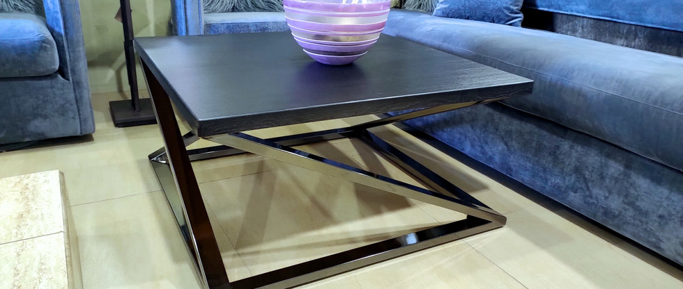 Geometric Design Cocktail Table