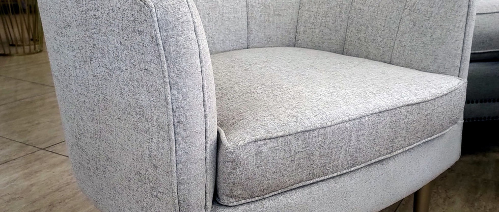 Quality Channel Back Accent Chair
