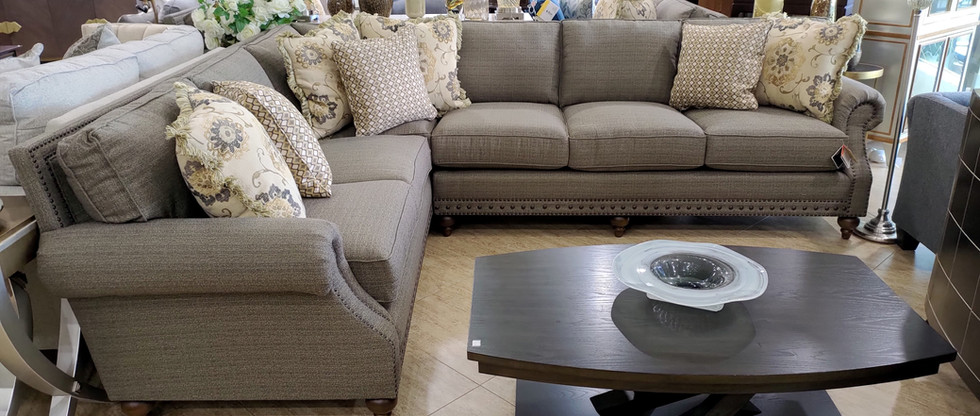 Luxurious Sectional Seating