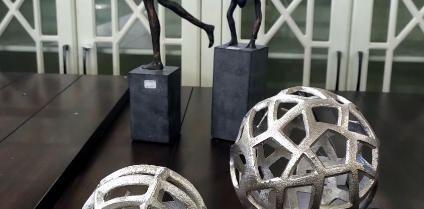 Cast Aluminum Decorative Spheres