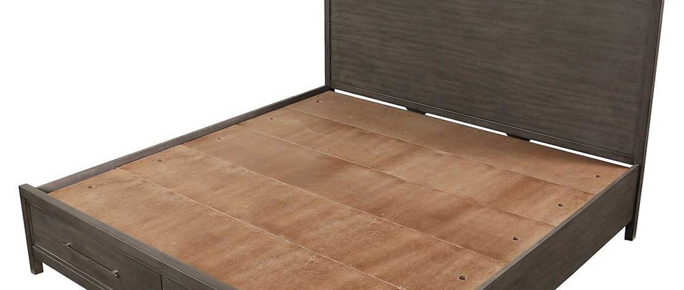 Modern King Storage Platform Bed