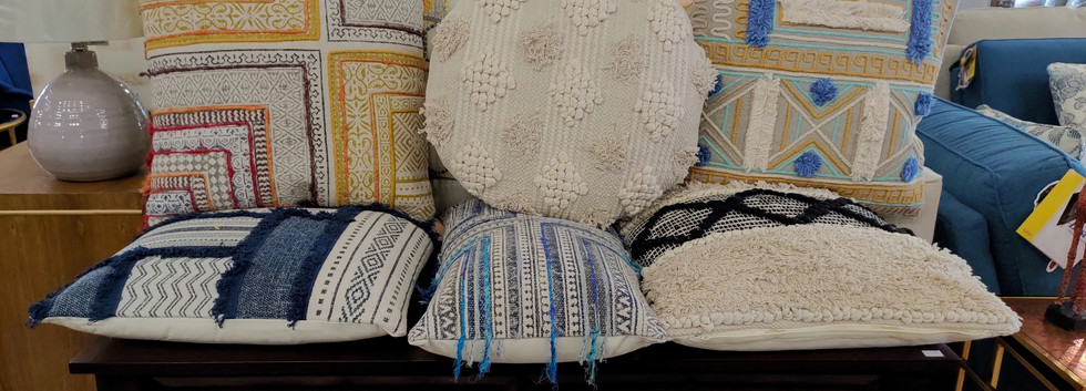 Assorted Cotton Cushions