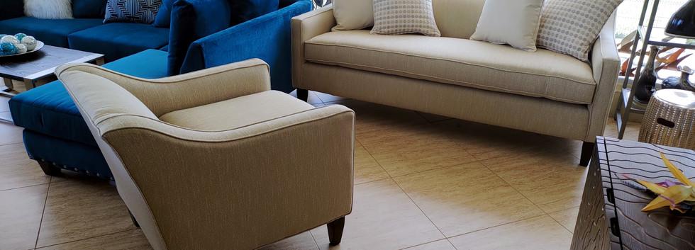 Deep-Seating Sofa & Chair