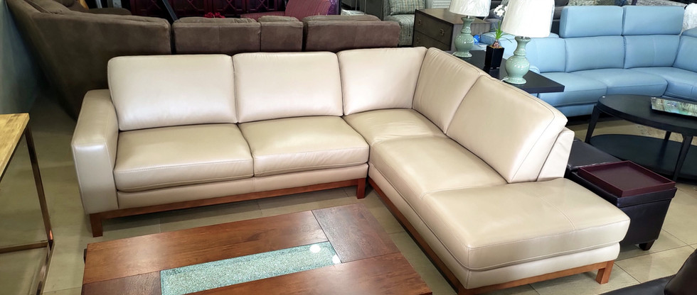 Quality Leather Sectional