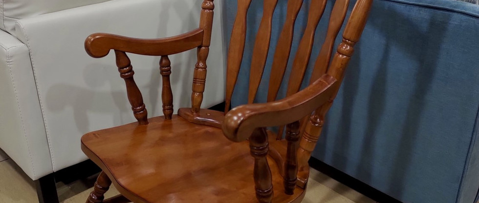Traditional Country-Style Wooden Rocking Chair
