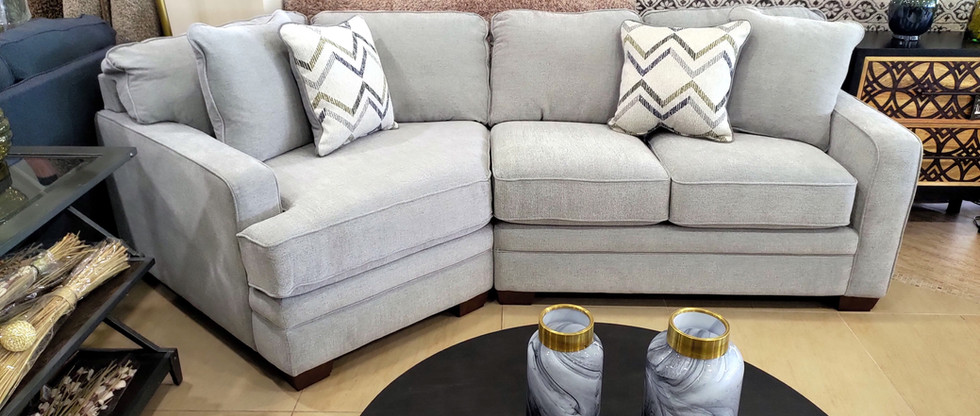 Sectional Sofa with Cuddler