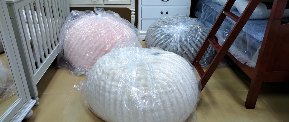 Soft and Comfy Bean Bags!  :D