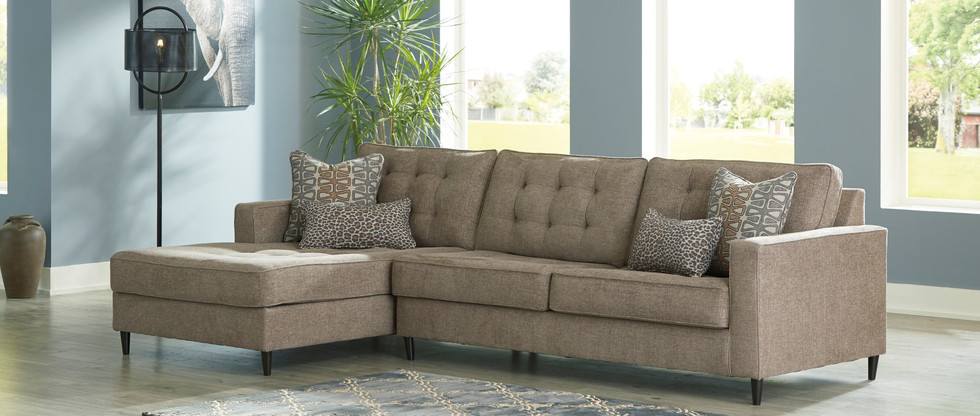 Retro-Chic Sectional