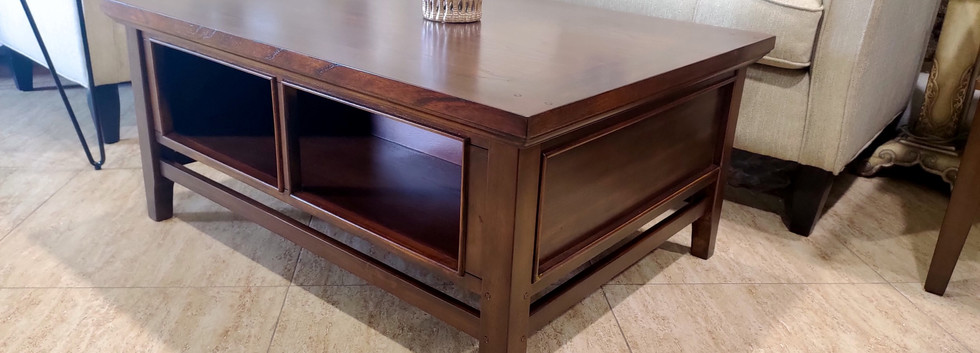 Storage Cocktail Table