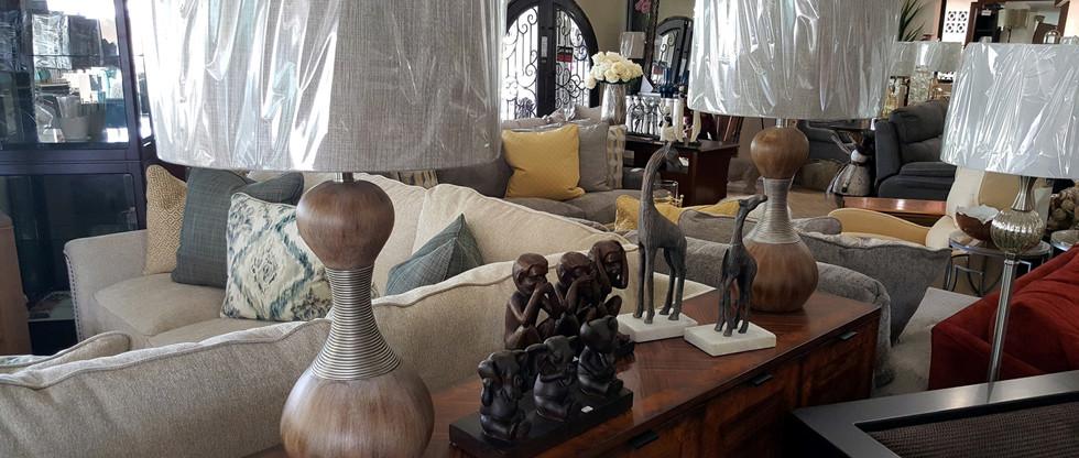 Pair of Table Lamps – Slim Waist