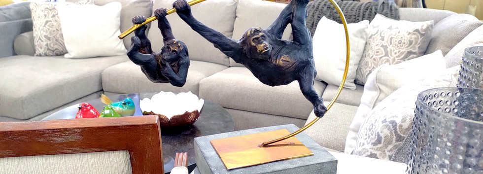 Monkeying Around Figurine