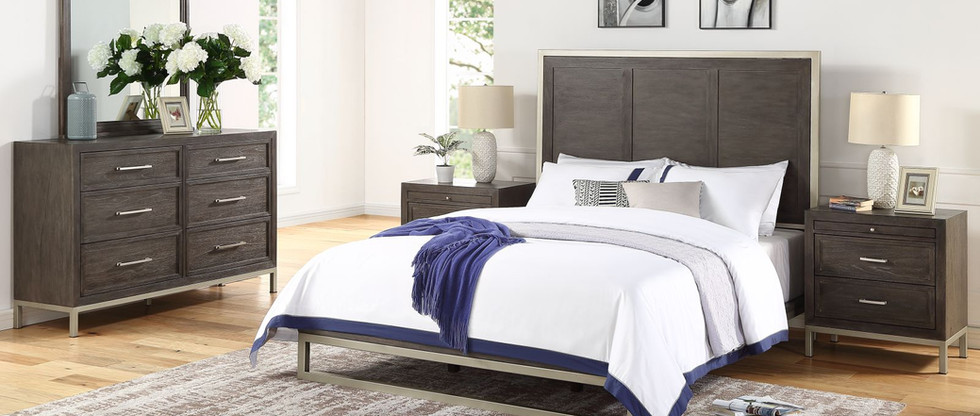 5-Piece King Platform Bedroom Group