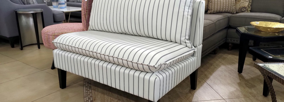 Comfortable Accent Bench