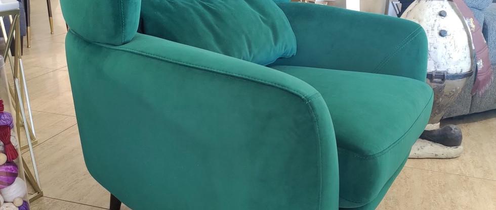 Soft Fabric Club Chair