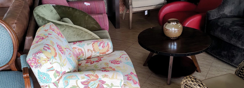 A Variety of Accent Chairs