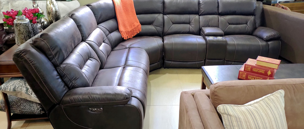 Power Reclining Sectional Seating