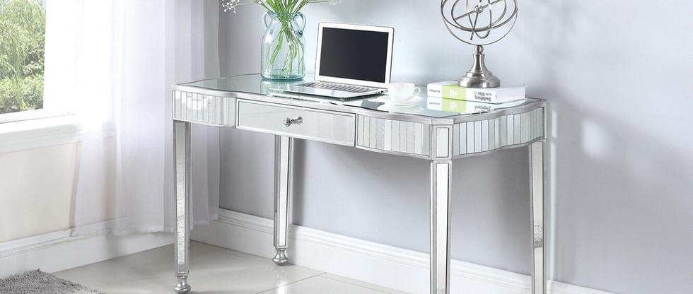 Contemporary Mirrored Writing Desk