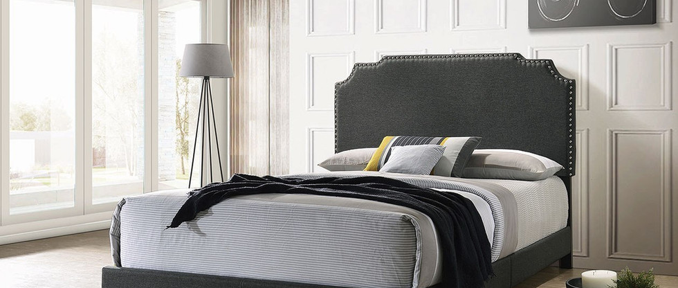 Queen-Size Upholstered Bed
