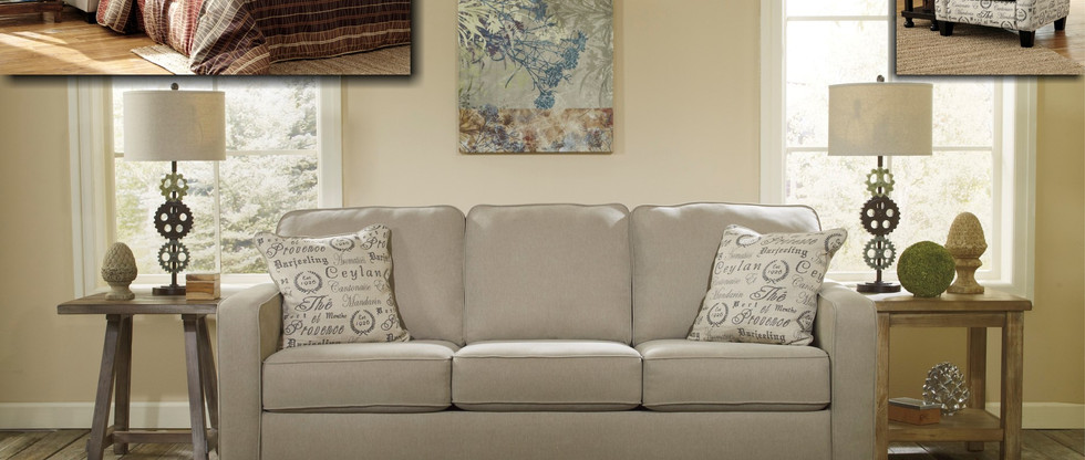 Sofa with Queen Pull-Out Sleeper