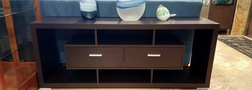 TV Console – Dark Brown