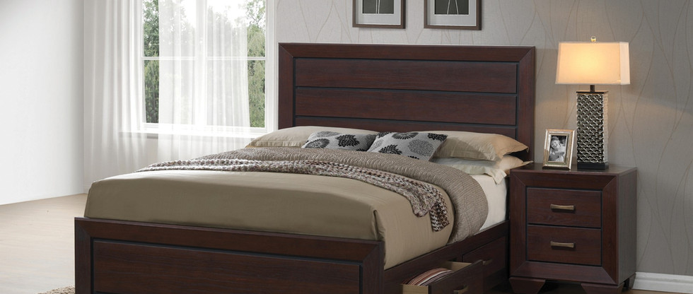 King-Size Storage Bed
