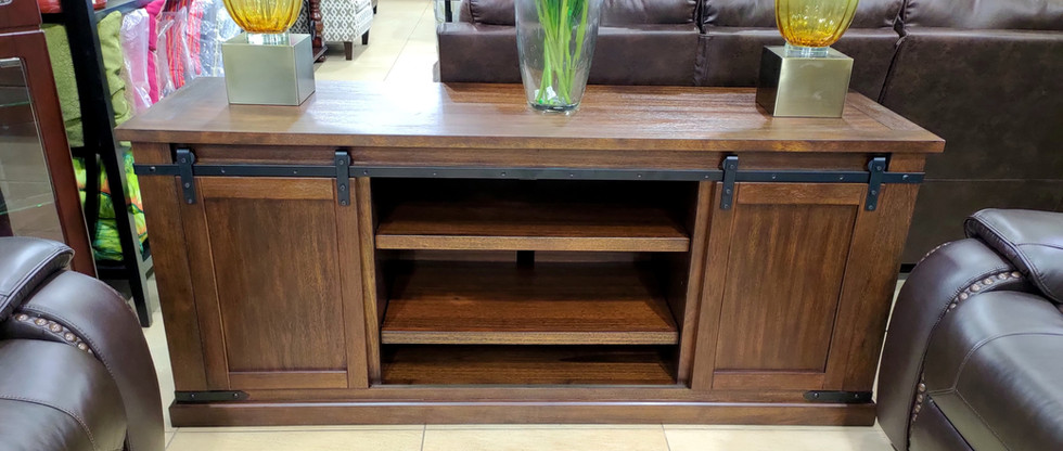 Large Country Style TV Stand