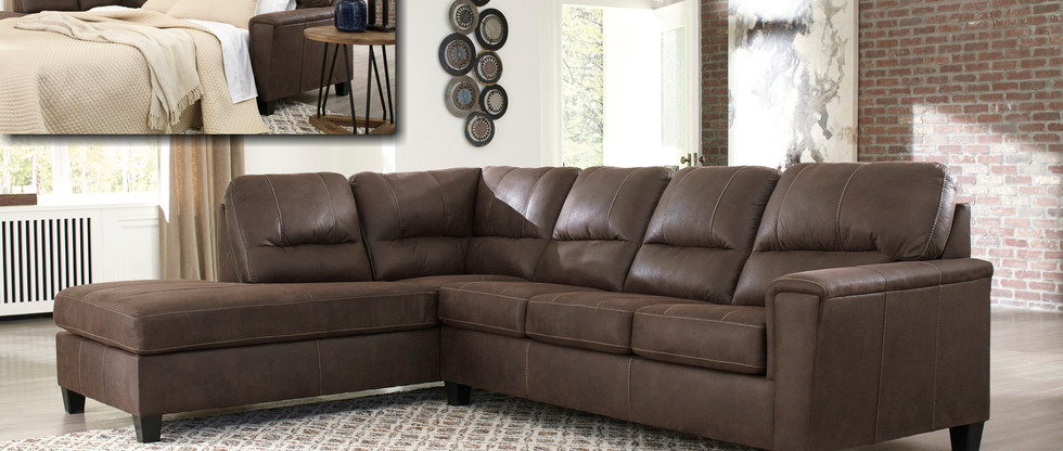 Sectional with Queen Pull-Out Sleeper
