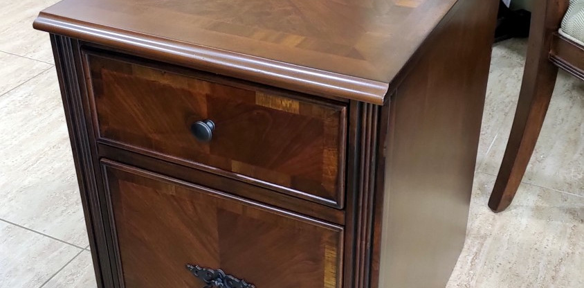File Cabinet on Casters