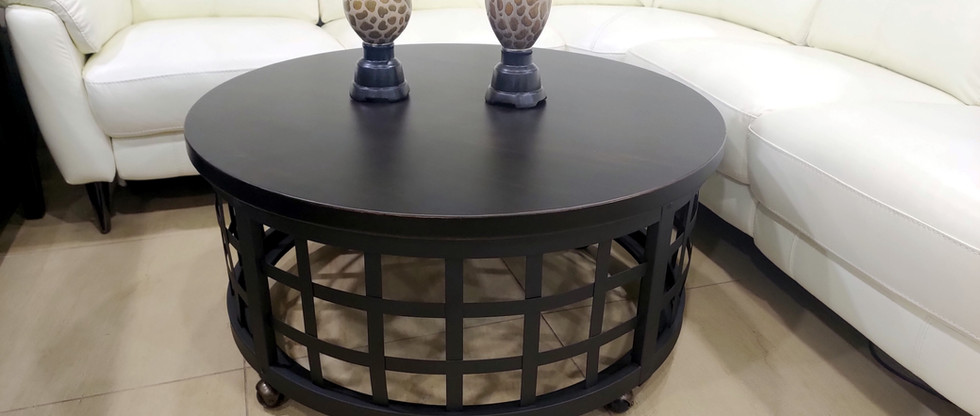 Cocktail Table on Casters