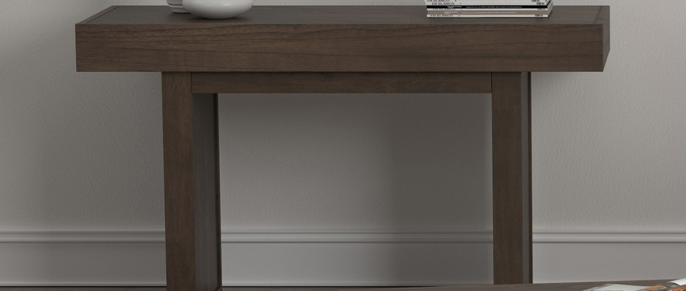 Thick-Top Console/Sofa Table