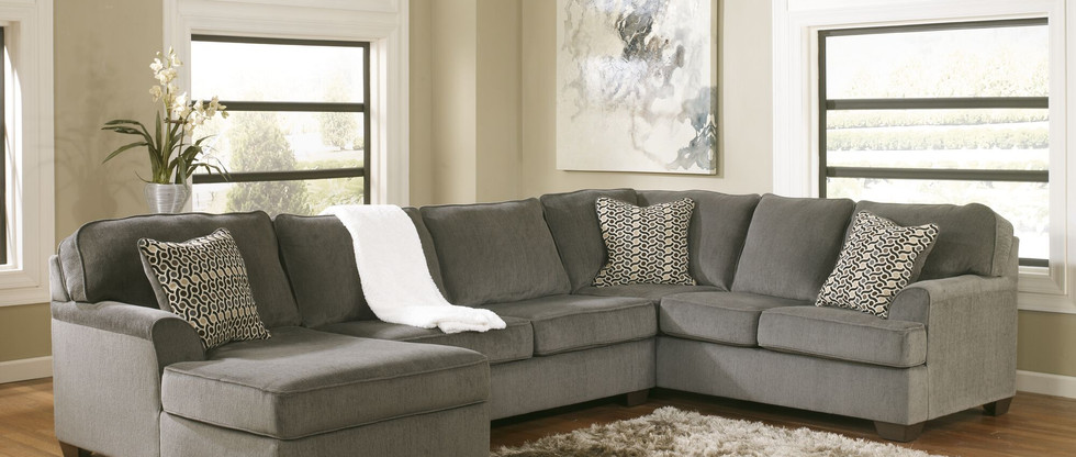 Contemporary Sectional – Chaise on Left